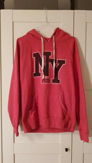 Cotton On Hooded Sweater brick red