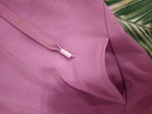 Amisu Jersey con capucha malva Poliéster