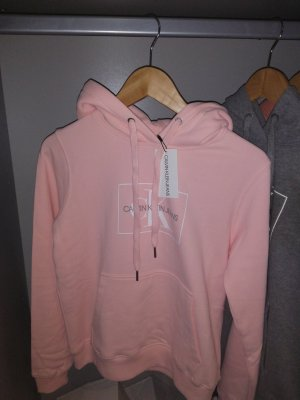 Calvin Klein Capuchon sweater lichtroze