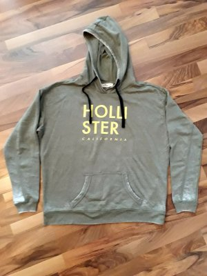 Hollister Hooded Sweater khaki