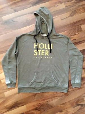 Hollister Pull à capuche kaki