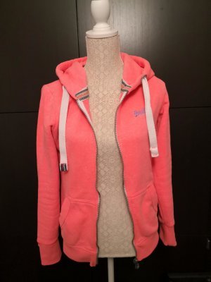 Superdry Hooded Sweater neon pink