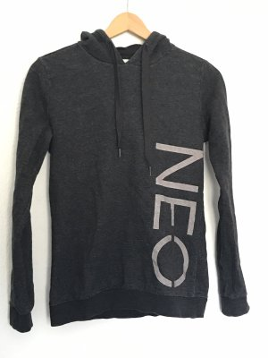 Adidas NEO Jersey con capucha gris oscuro