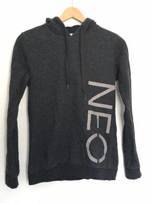 Adidas NEO Capuchon sweater donkergrijs