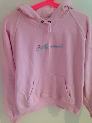 Alprausch Hooded Sweater light pink