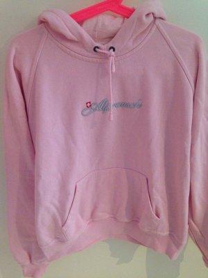 Alprausch Maglione con cappuccio rosa chiaro