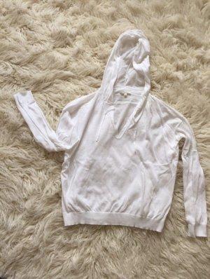 Opus Pull à capuche blanc