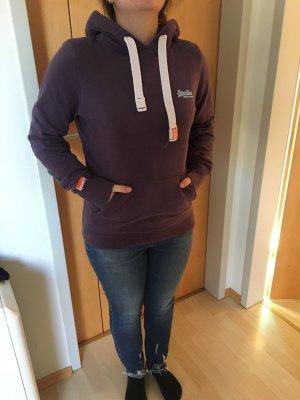 Superdry Hooded Sweater grey violet-dark violet