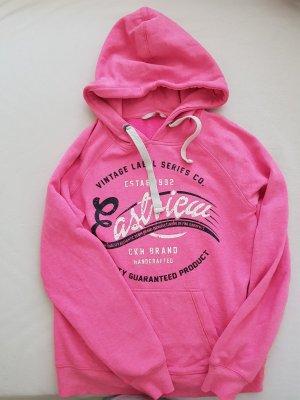 Clockhouse Jersey con capucha rosa