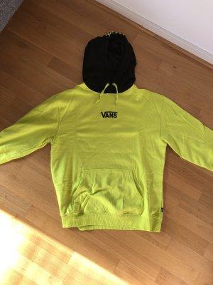 Vans Jersey con capucha amarillo neón-negro