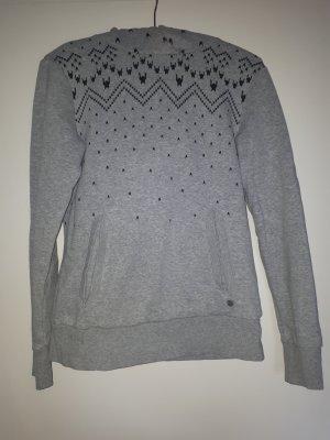 Adidas NEO Capuchon sweater zwart-grijs