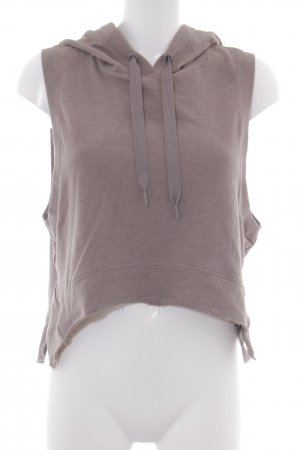 Hooded Sweater beige simple style