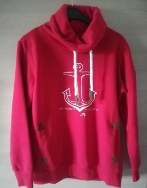 Jersey con capucha rojo