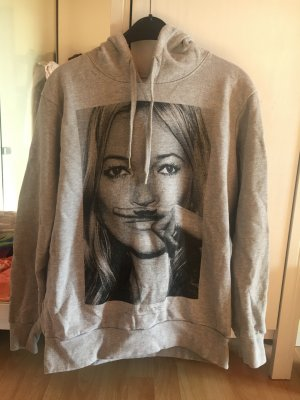Eleven Paris Capuchon sweater grijs