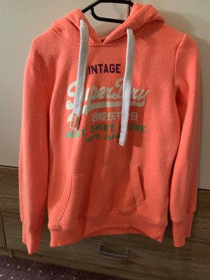 Superdry Hooded Sweater neon orange