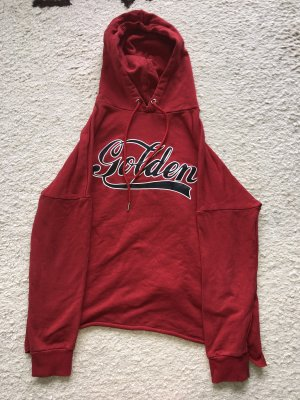 H&M Hooded Sweater red-dark red