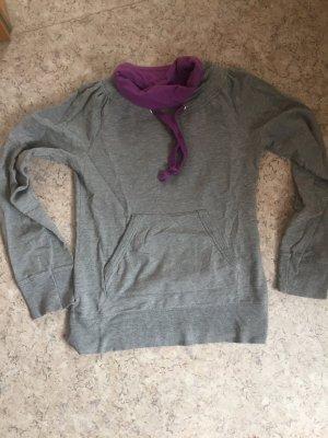 Kapuzenpullover lila & grau, Vero Moda, Größe S