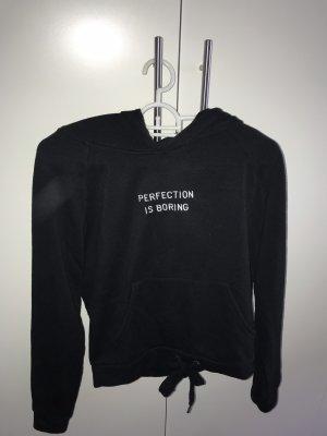 Tally Weijl Hooded Sweater black
