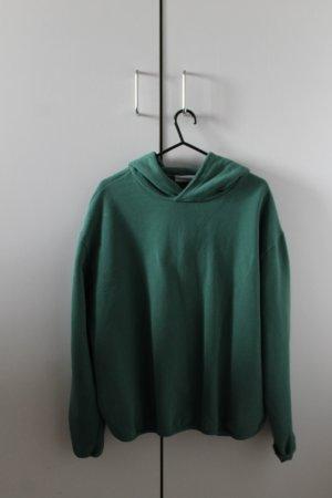 Weekday Jersey con capucha verde bosque-verde