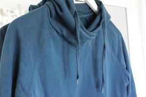 Kapuzenpullover Pullover Hoodie blau H&M Divided 38