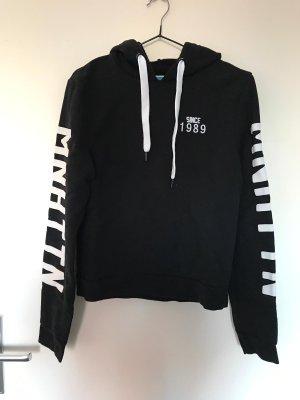 Kapuzenpullover / Sweatshirt schwarz