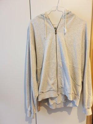 Adidas Originals Pull à capuche gris clair