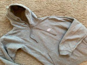 Nike Pull à capuche gris clair