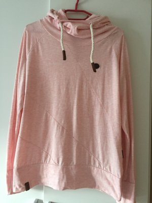 Naketano Hooded Shirt pink