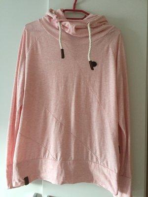 Naketano Camicia con cappuccio rosa pallido