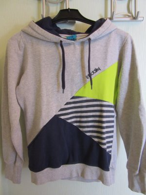 Hooded Shirt silver-colored
