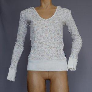 Kapuzenshirt mit Blümchen-Muster