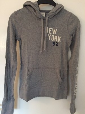 Abercrombie & Fitch Hooded Shirt grey