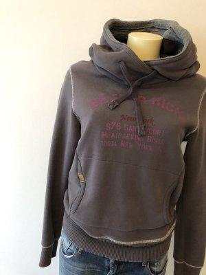 Better Rich Sweatshirt met capuchon grijs-paars