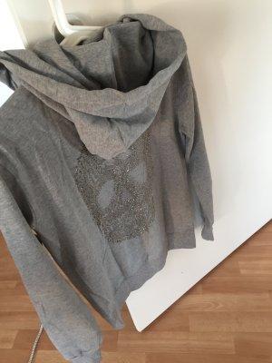 Kapuzensweater Glitzertotenkopf
