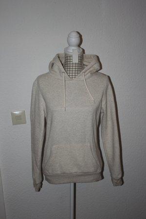 Kapuzensweater, Hoodie, Sweater, creme beige Gr. 40