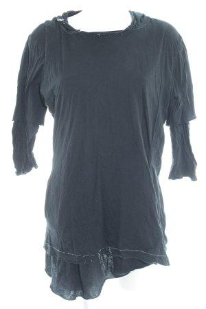 Kapuzensweatshirt dunkelgrün Punk-Look