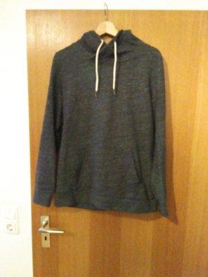 armedangels Hooded Sweatshirt anthracite cotton