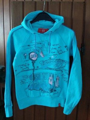 Kapuzensweatshirt von Esprit türkis