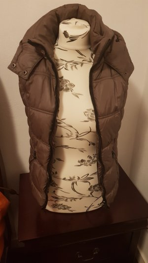 Clockhouse Hooded Vest bronze-colored