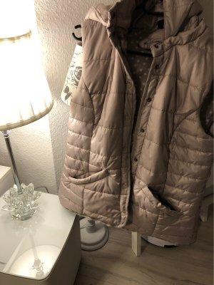 Takko Hooded Vest light brown