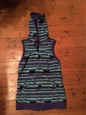 Burton Chaleco con capucha violeta azulado-azul claro