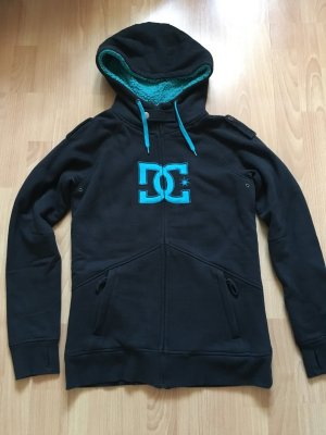 DC Shoes Smanicato con cappuccio nero-turchese