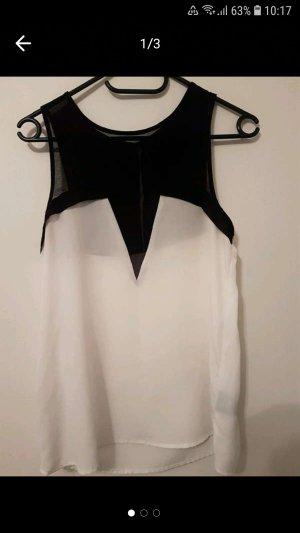 Kardashian Kollection for Lipsy Blouse blanc-noir