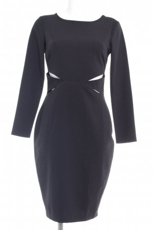 Kardashian Kollection for Lipsy Cut-Out-Kleid schwarz Elegant