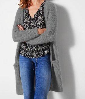 Comptoir des Cotonniers Veste en tricot gris clair