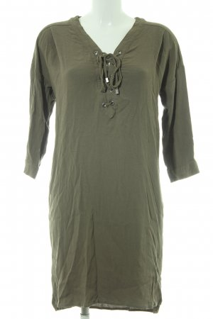 Karen by Simonsen Tunic Dress green grey simple style