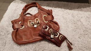 Karen Ly Handbag light brown leather