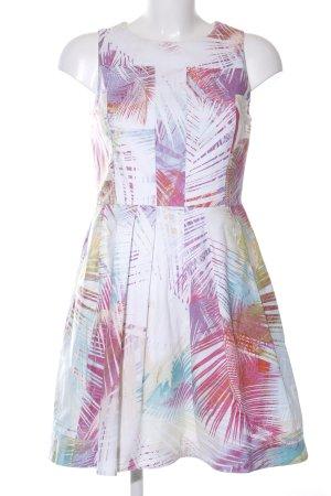 KAREN MILLEN A-Linien Kleid abstraktes Muster Casual-Look