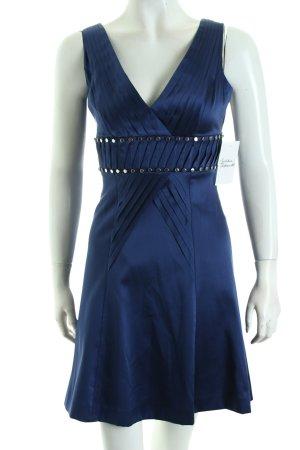 KAREN MILLEN A-Linien Kleid dunkelblau Eleganz-Look