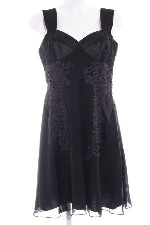 KAREN MILLEN A-Linien Kleid schwarz Elegant